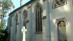 Halifax Nova Scotia New Scotland Canada 079 nave of St. Matthew's Church Footage