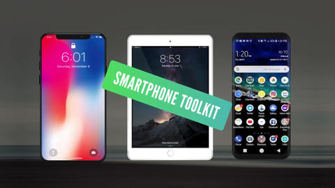 Smart Phones Toolkits After Effects Template