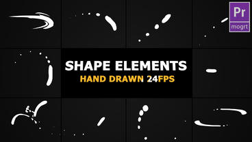 Shape Elements Motion Graphics Template