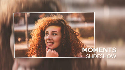 Moments Slideshow Premiere Pro Template