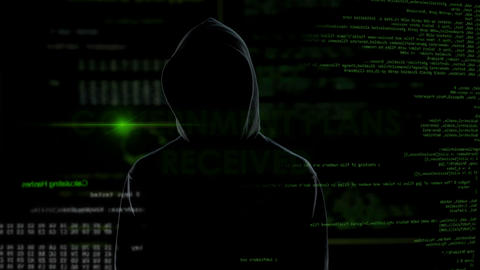 Government plans received, scary shadow hacker planning country defense attack Live Action