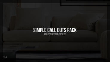Call Outs Motion Graphics Template