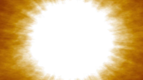 [alt video] Abstract Sunburst Explosion Fading To White Screen