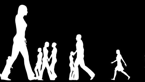 Human Population 7 CG動画素材