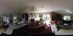 360vr view of vintage living room VR 360° Video