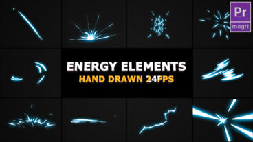 2DFX Energy Elements Motion Graphics Template