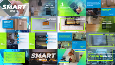 Intelligent Smart Home Promo After Effects Template