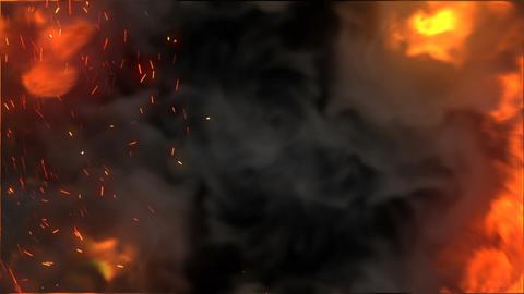 Fire portal Animation
