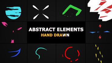 Flash FX Abstract Elements After Effects Template
