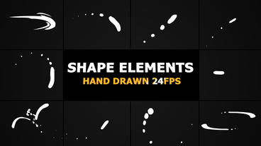 Shape Elements Pack After Effects Template