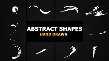 Flash FX Abstract Shapes After Effects Template
