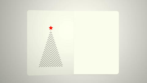 Minimal Christmas card, with very minimal Christmas tree Live Action
