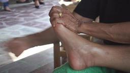 Thai Foot Massage Live Action