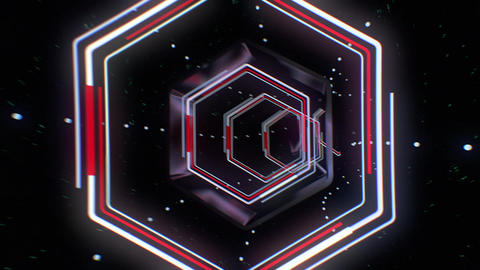 VJ Loop Tunnel 02 CG動画素材