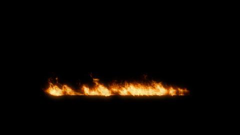 Fire 1 CG動画素材