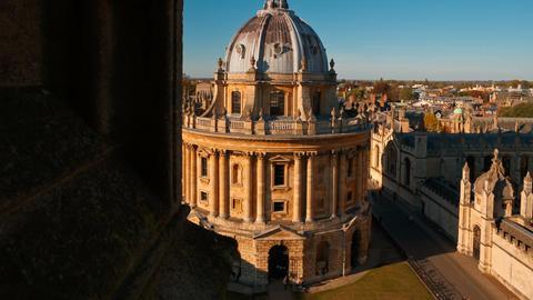 Radcliffe Camera, Oxford University, England, UK GIF