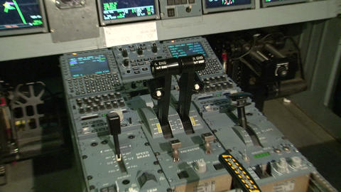 The cabin of the aircraft Footage