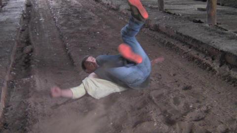 body fall Footage