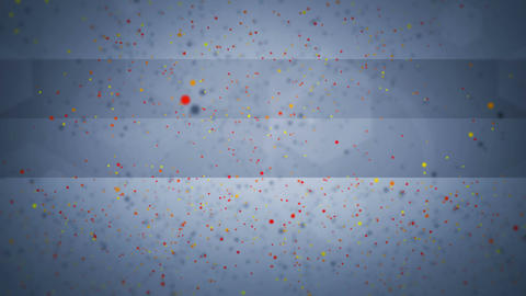 happy new year particles Stock Video Footage