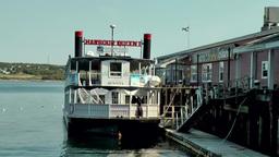 Halifax Nova Scotia New Scotland Canada 042 seaport, mississippi steamer at pier Footage