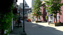 Halifax Nova Scotia New Scotland Canada 047 residential street in downtown Footage