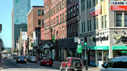 Halifax Nova Scotia New Scotland Canada 075 city, downtown, Barrington Street Footage