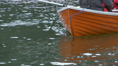 Slipping Boat on Water Footage