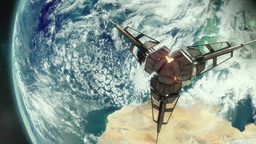 Orbiting Future Satellite Animation