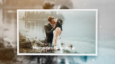 Memories Slideshow Plantilla de After Effects