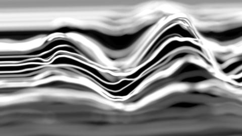 4K Abstract lines in a wave pattern Footage