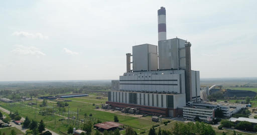 Thermal power plant, coal Footage