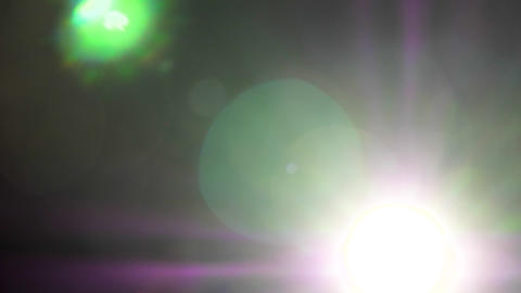 Abstract dynamic colorful lens flares Footage