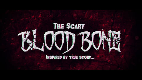 Blood Bone After Effects Template