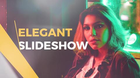Elegant Slideshow PPro Premiere Proテンプレート