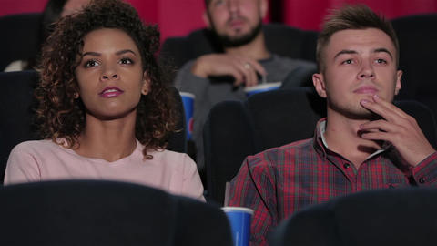 Young couple at the cinema Live Action