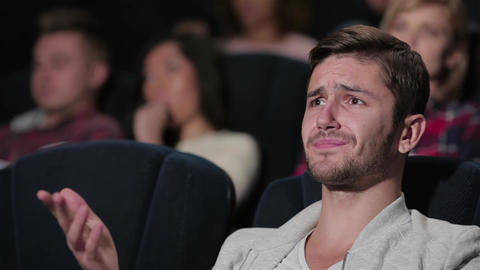 A fan movie male watching a movie story Live Action