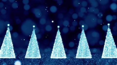 Fantastic Christmas Tree Illumination Animation