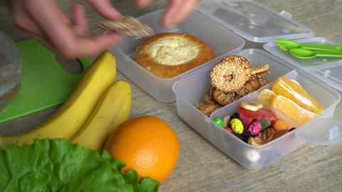Healthy Back to School Lunch Box Live Action