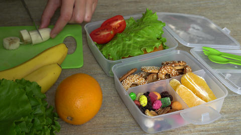 Bento box lunch for back to school and work lunches Live Action