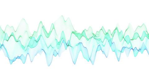 Sine Wave Graphic Background Animation