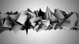 Abstract noise shape loop ビデオ