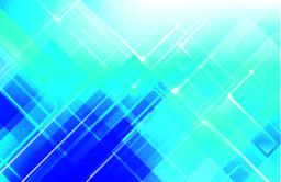 Abstract blue background with basic geometry shape low poly styl ベクター