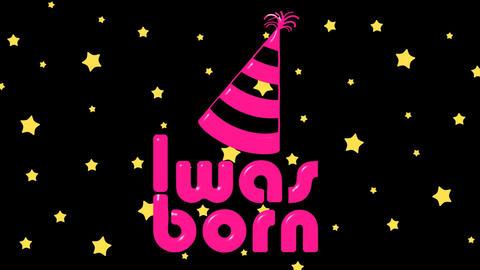 Was born pink on stars Animation