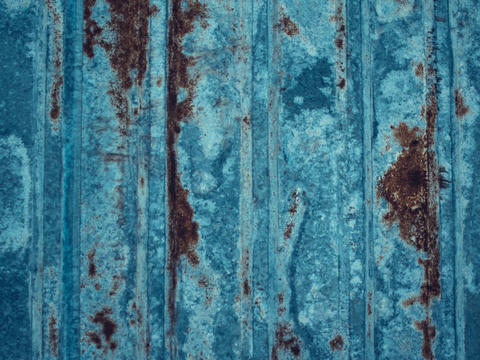 Rustic green metallic plate background Fotografía