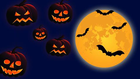 Happy Halloween Animation Stock Video Footage