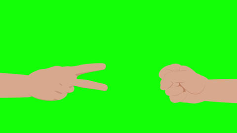 Rock Paper Scissors Animation