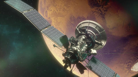 Mars Satellite One Animation