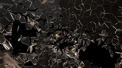 Glass Fracture Animation