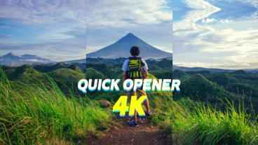 Quick Opener 4K After Effects Template
