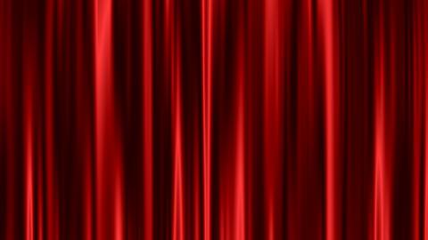 Curtain loop - Red Stock Video Footage